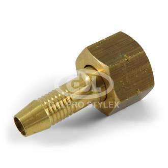 """3/8"""" BSP x 10mm Tail - L/H Swivel"""