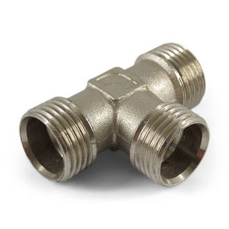"""1/2"""" x 1/2"""" Coupling Multi Fit Equal Tee"""