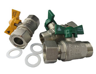 Water Heater Ball Valve Kit (20mm)