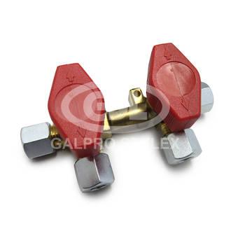 8mm Gas Manifold - 2 Valve