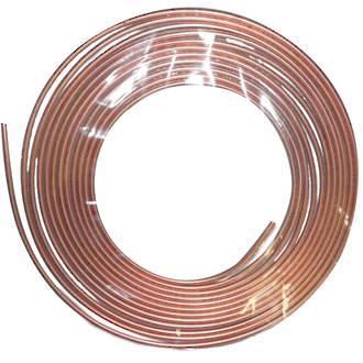 10mm x 0.7mm x 10mtr Copper Tube Coil