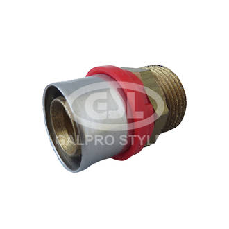 """Pexal Male Connector 26mm x 3/4"""""""