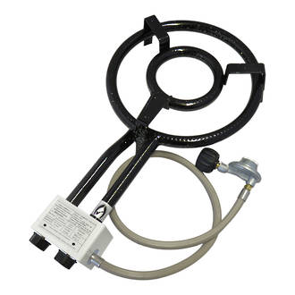9.5kw 350mm LPG Ring Burner