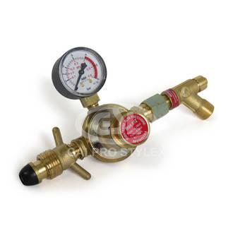 High Pressure Regulator with Gauge