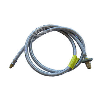 """POL Pigtail with 1/4"""" Inv Flare 2mtr"""