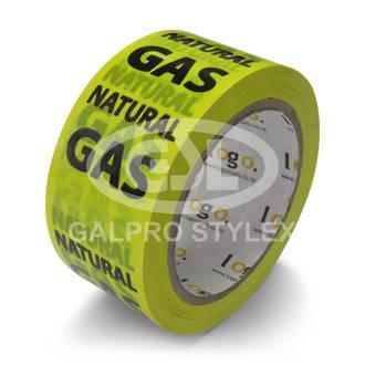 Warning Tape - Natural Gas