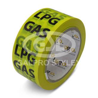 Warning Tape - LPG Gas