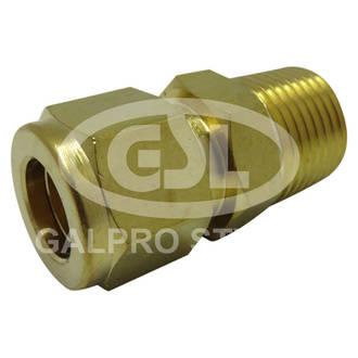 """3/8"""" x 1/2"""" Male Connector"""