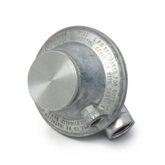 3kg QCC LPG Angled Regulator (No Fittings)