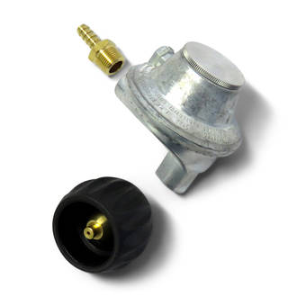3kg QCC LPG Angled Regulator Kit