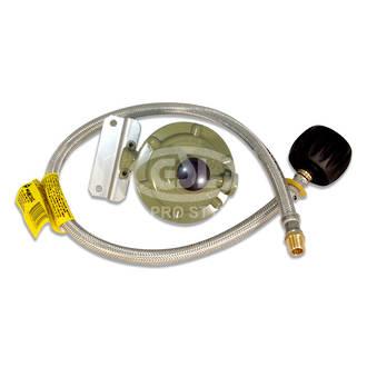 "3kg Single stage QCC 760mm 1/4"" LPG Kit"