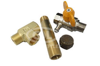 """1/2"""" Drain Kit with Test Point BV"""