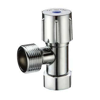 "1/2"" x 3/4"" Washing Machine Stop with Check Valve Swivel Nut"