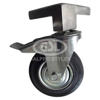 """Mount Forge Left & Right Wheel 5"""", Brake and Bracket (125.5mm x 32mm)"""