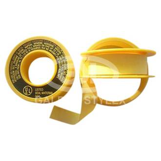 Yellow Gas Thread Tape (UL and AGA Approved)