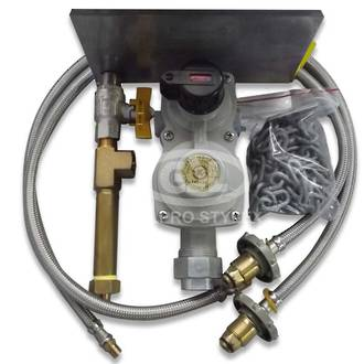 8kg Auto change LPG Regulator Kit