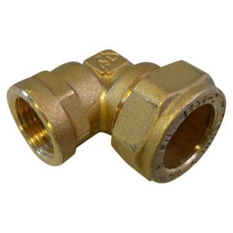 15mm F x 20mm Copper Female Reducing Elbow