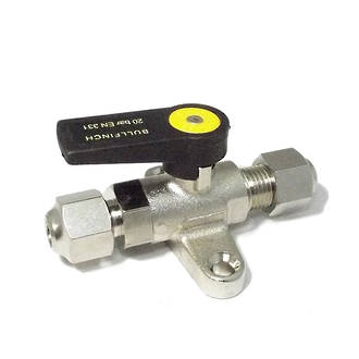 Ball Valve with Foot