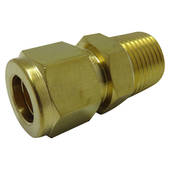 "3/8"" x 1/2"" Male Connector"