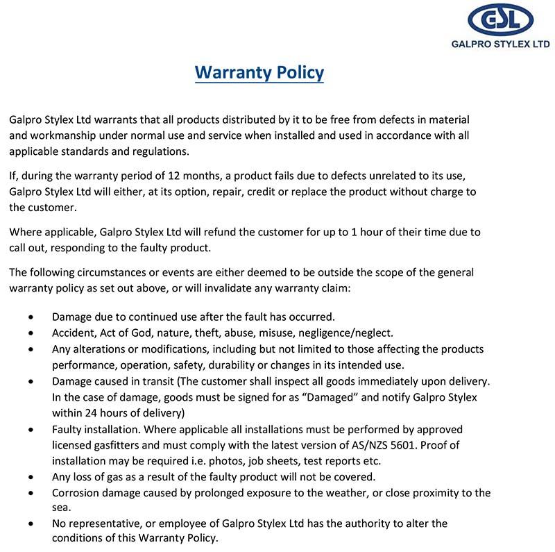 WarrantyPolicy