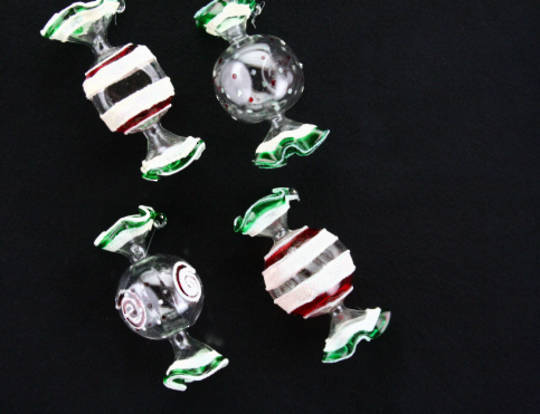 Glass Sweets 8cm