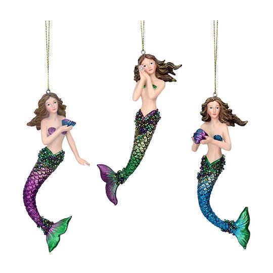 Resin Atlantis Mermaid17cm
