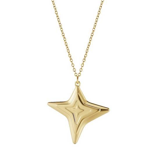Georg Jensen Chain Ornament, 4 Point Star 2021