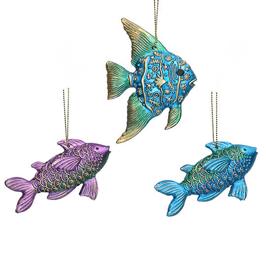 Resin Atlantis Fish 8cm