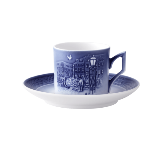 Royal Copenhagen Annual Christmas Cup & Saucer 2018