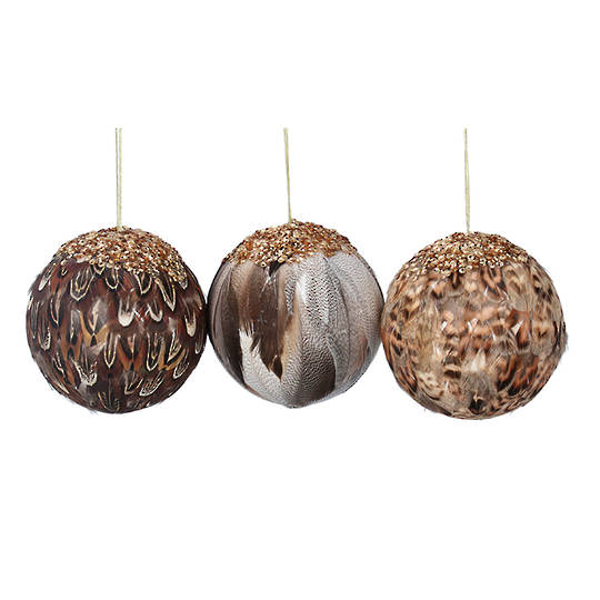 Natural Feather Ball 8cm