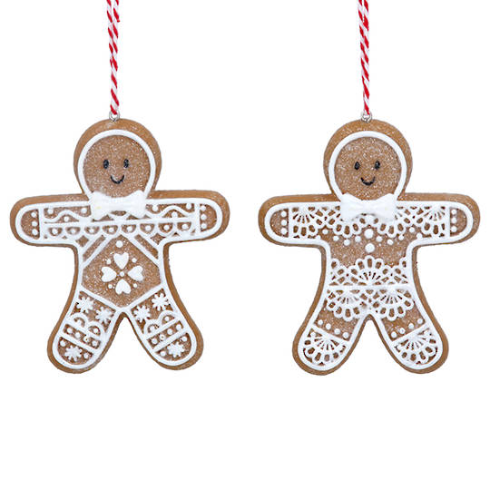Resin Noel Gingerbread Man 8cm