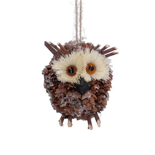 Bristle Cone Barn Owl 8cm