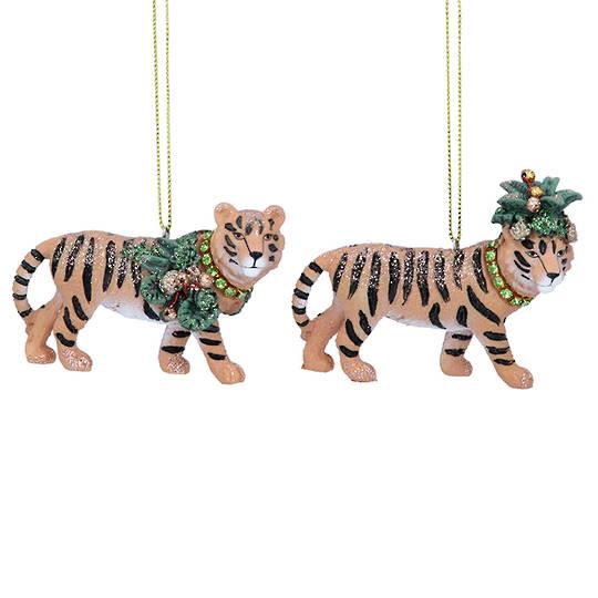 Resin Noble Jungle Tiger 8cm