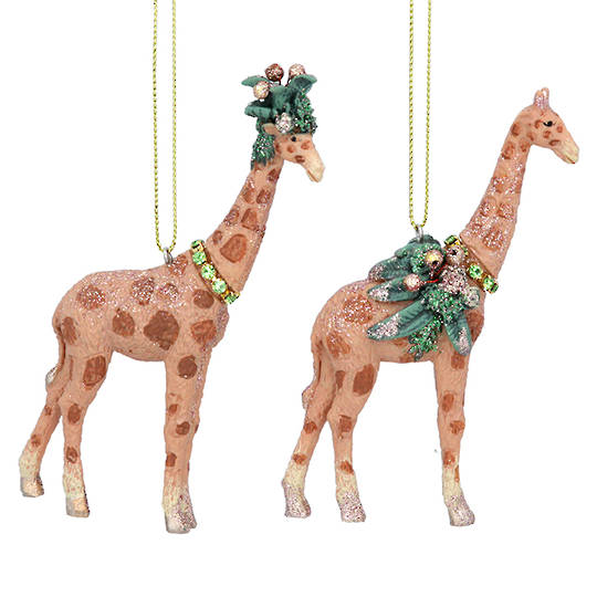 Resin Noble Jungle Giraffe 11cm