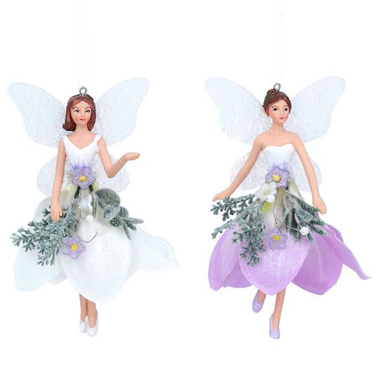 Resin Fabric Winter Dream Fairy Medium 14cm