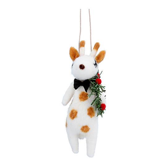 Wool Giraffe 13cm