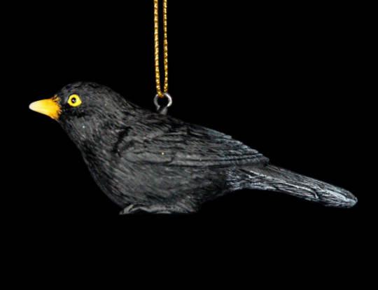 Resin BlackBird 6cm