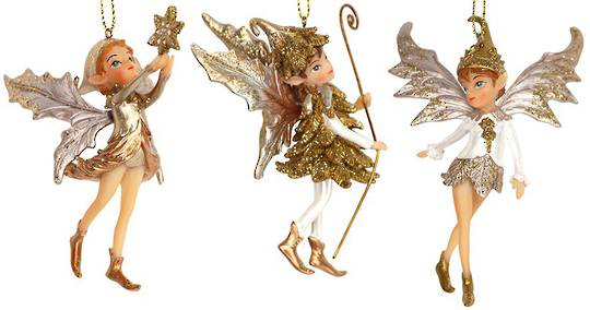 Resin Magical Pixie Walking 11cm