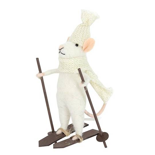 Wool Mouse Speed Sking 15cm