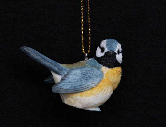 Resin Blue Tit 6cm