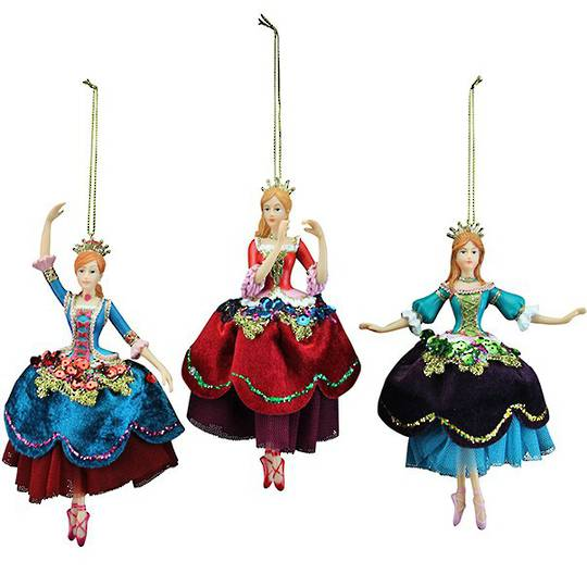 Resin Russian Nutcracker Princess 18cm