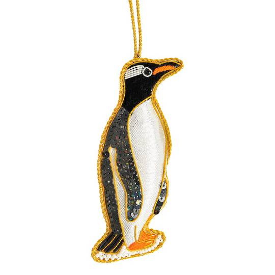 Hanging NZ Bird, Gentoo Penguin