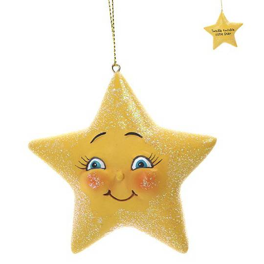 Resin Twinkle Little Star 8cm