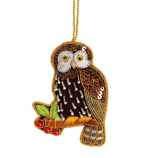 Hanging NZ Bird, Morepork / Ruru SOLD OUT
