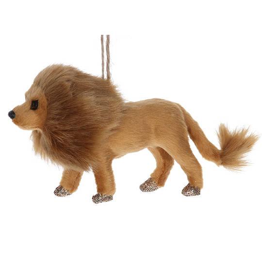 Faux Fur Lion 15cm
