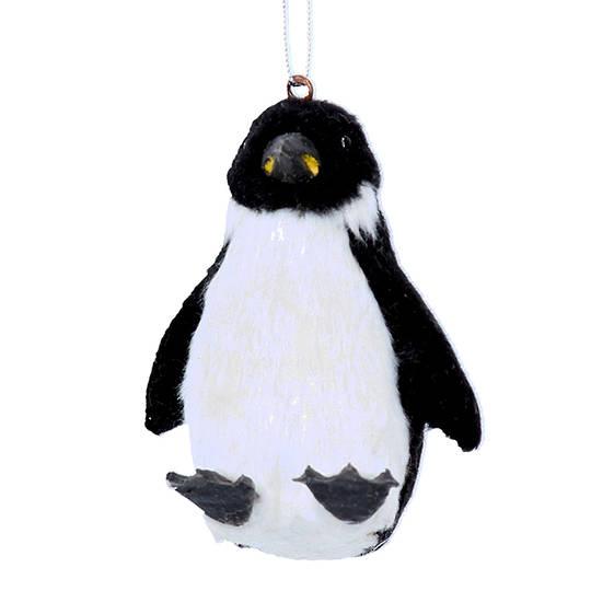 Faux Fur Penguin 7cm