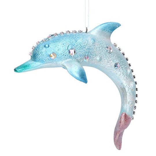 Resin Dolphin 10cm