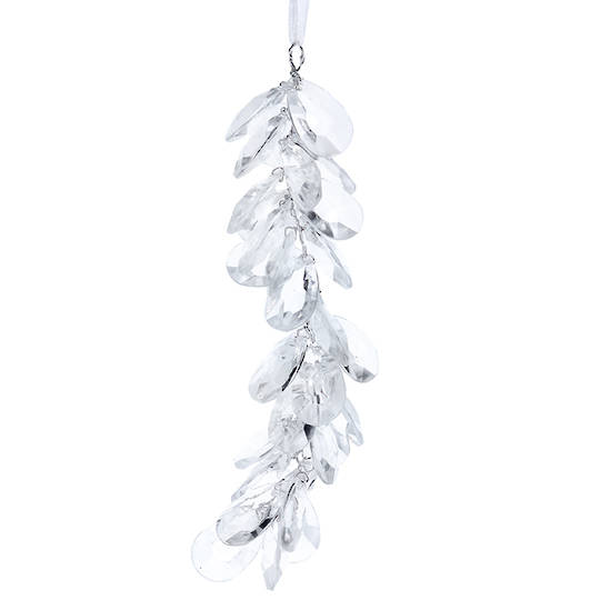 Clear Crystal Cluster 17cm