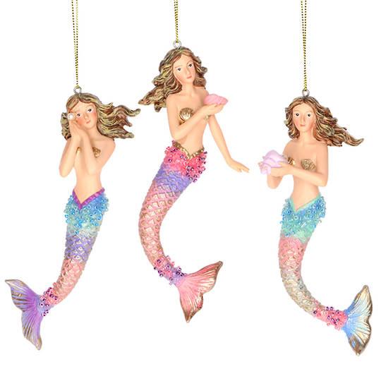 Resin Sea Kingdom Mermaid 14cm