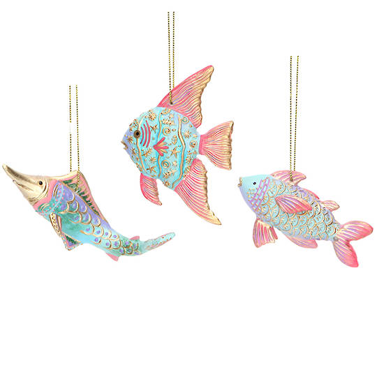 Resin Sea Kingdom Fish 9cm
